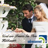 Hochzeitssäle bei Adressennet finden