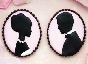 Brautpaar aus Zuckerguss