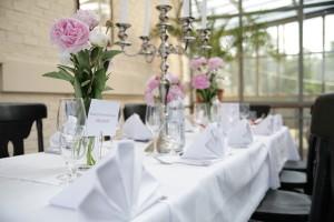 Deutsch-österreichisches Hochzeitsgedeck
