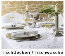 feierlich gedeckter Tisch